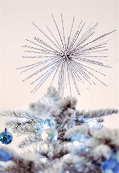 spectacular starburst tree topper diy w pipe cleaners love maegan
