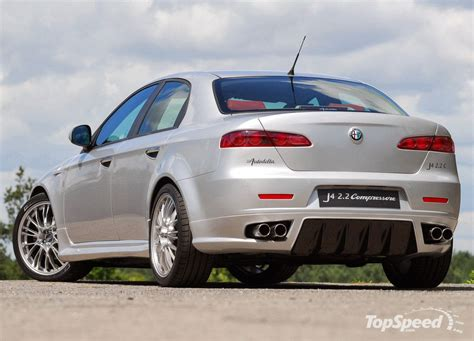 Hq Engine And Car Pictures Crazy Alfa Romeo 159 Tuning