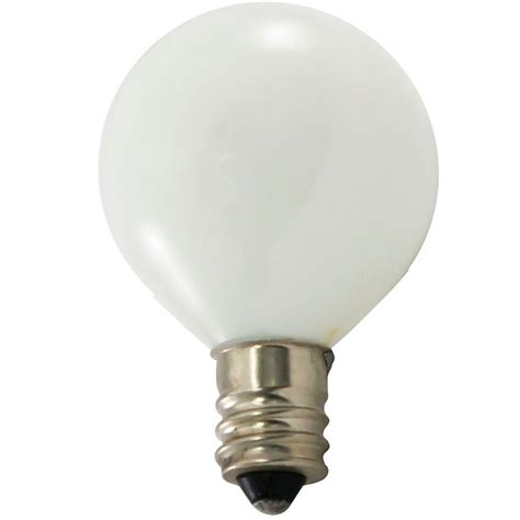 7 5 watt white candelabra base bulb 25 pack