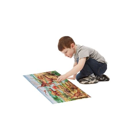 melissa and doug dinosaurs floor jigsaw puzzle 48 pieces