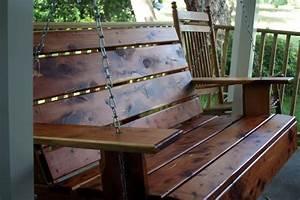 Woodwork Pallet Porch Swing Plans PDF Plans
