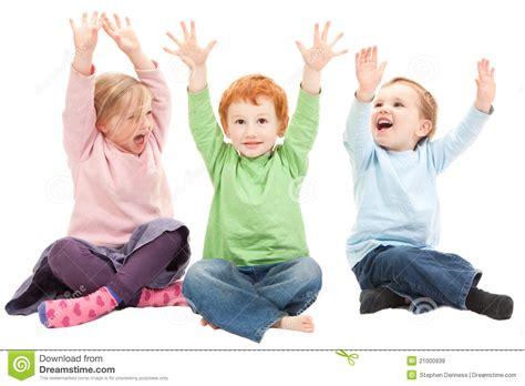 Happy Kids Having Fun Stock Image Image Of Isolated