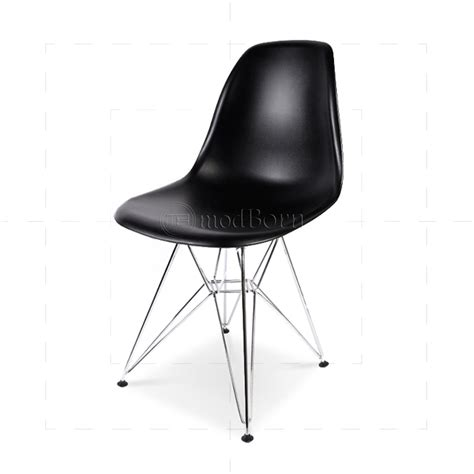 chaise style eames eames style dining dsr eiffel chair black with chaise dsr