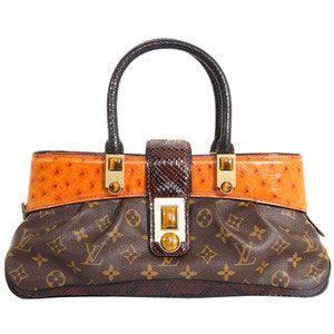 louis vuitton macha waltz  ed ostrich bag louis vuitton ostrich handbags
