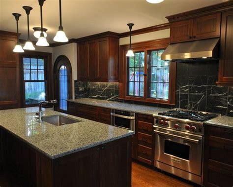 kitchen design conservative kitchen  dark wood