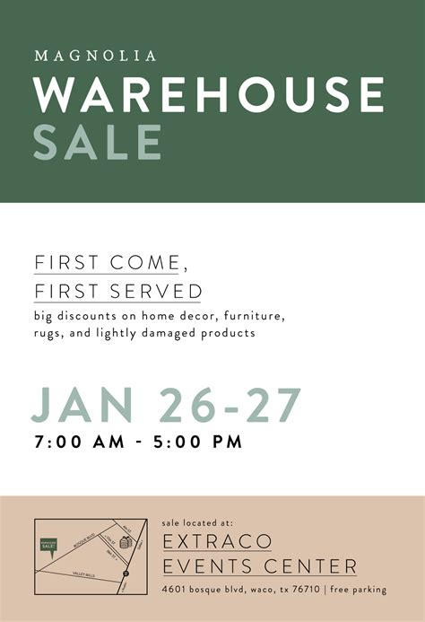 magnolia warehouse sale jan waco tx magnolia