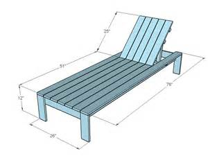Lounge Chair Size by Ana White Single Lounger For The Simple Modern Outdoor