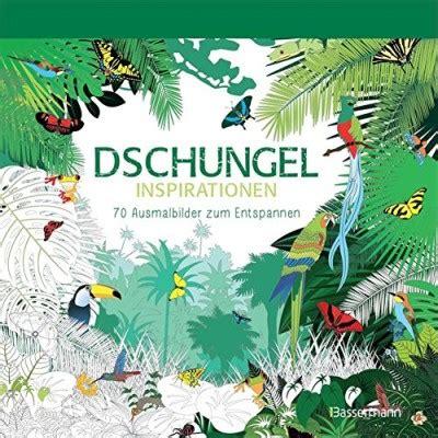 Dschungel Inspirationen  Malbuch Für Erwachsene