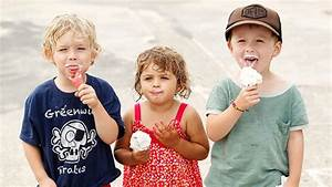 20 pictures of kids eating ice cream that will make you