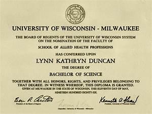 Bachelor Degree: Bachelors Of Science Degree