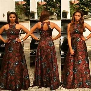 robe longue africaine photos de robes With déco chambre bébé pas cher avec robe longue rouge fleurie