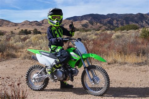 2018 Kawasaki Klx110 Review  For Budding Eli Tomacs