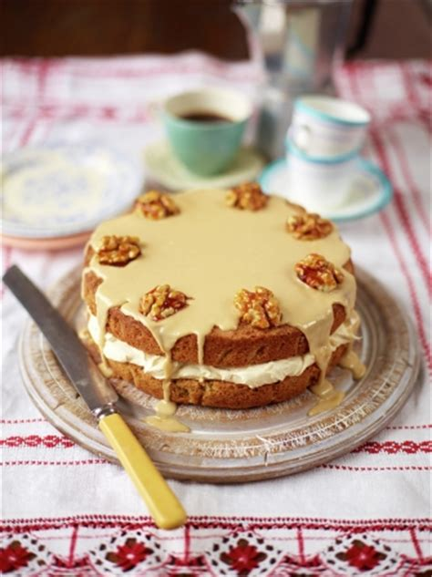 coffee  walnut cake uncategorised recipes