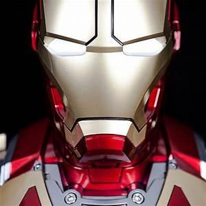 Marvel Iron Man Mark 43 Life-size Bust Hi-Fi Speaker ...