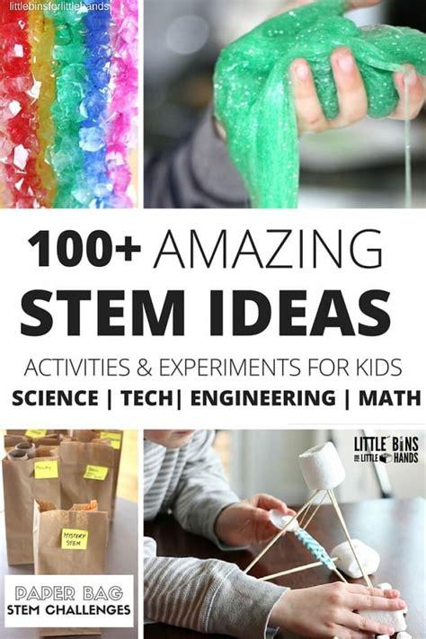 science experiments  stem activities  kids