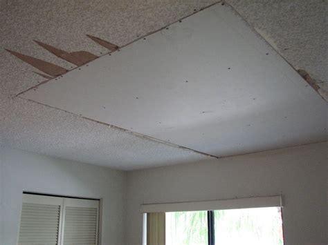 popcorn ceiling repair water damaged popcorn ceiling repair project showcase