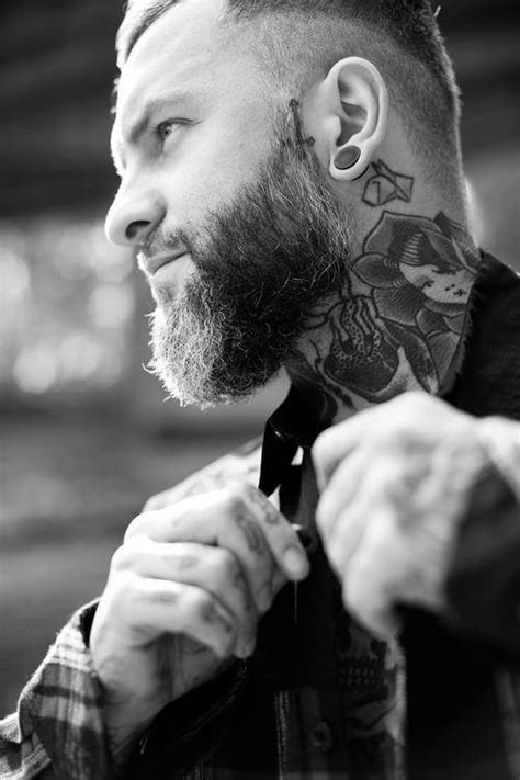 Neck Tattoo Designs for Men - Mens Neck Tattoo Ideas