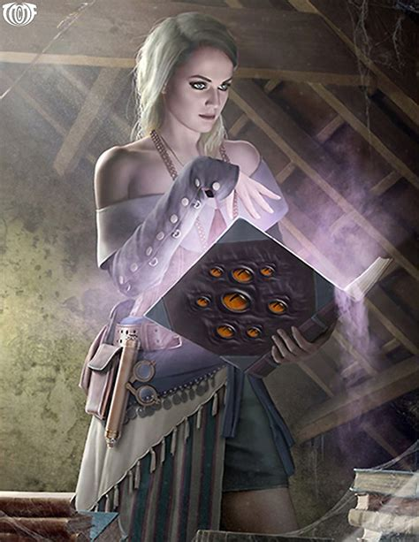 fantasy magic taboo chloe cryptids legend unknown witch chanting title artist card charaktere
