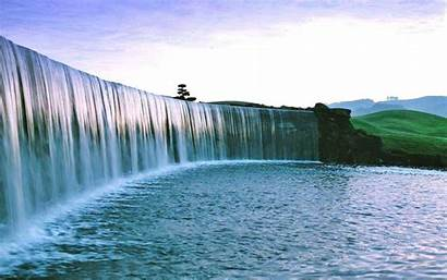 Waterfall Scenic Awesome Water Flowing Scenery Wallpapers