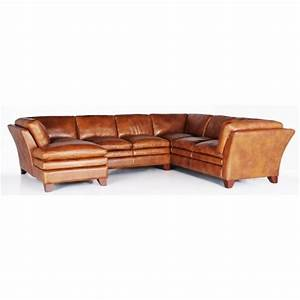 7203 three piece sectional sofa by futura leather baer39s for Leather sectional sofa miami