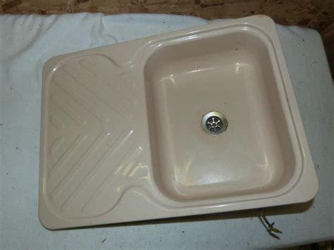 enamel kitchen sinks uk kitchen enamel sink drainer caravan motorhome boats