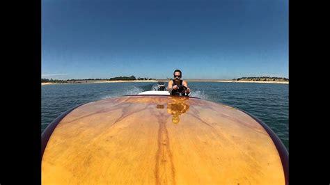 miller wood deck  drive flattie youtube