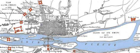 siege d orleans carte du siège d 39 orléans en 1429