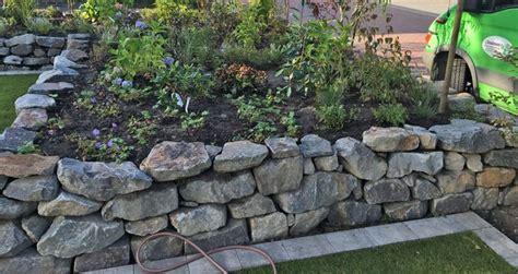 Garten Ideen Trockenmauer by Garten Trockenmauer