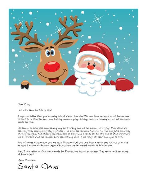 easy  letter  santa magical package crafty