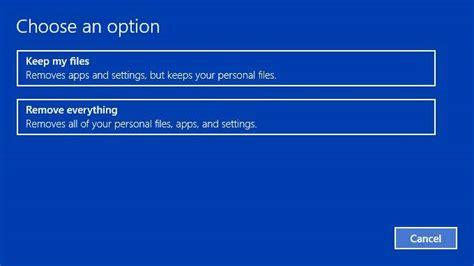 Top 2 Ways To Reset Lenovo Windows 10 Laptop To Factory