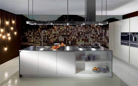 contemporary kitchen wallpaper ideas 89 contemporary kitchen design ideas gallery 5740
