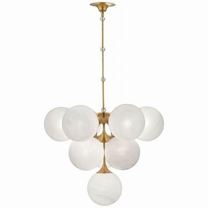 Pendant Lighting Chandelier Cristol Fixtures Glass Brass