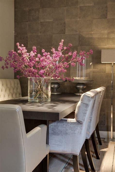 ideas artificial floral arrangements  dining