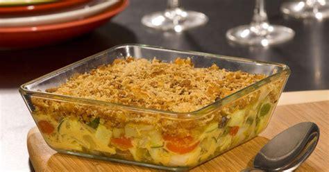 recette gratin de legumes du soleil facon crumble en video