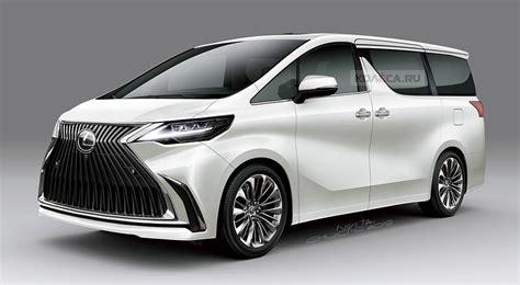 rendered  lexus luxury minivan lexus enthusiast