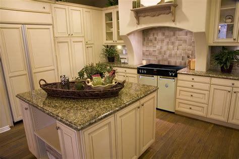 Best Antique White Kitchens Images On Pinterest