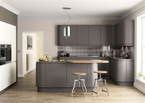 Grey Gloss Kitchen, New Fully Fitted Kitchens In