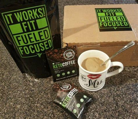 Ce café instantané de la gamme it works est un véritable concentré d'énergie qui. It Works! Keto Coffee! Easy on the go packets that can be mixed hot or cold. Contains MCT Oil ...