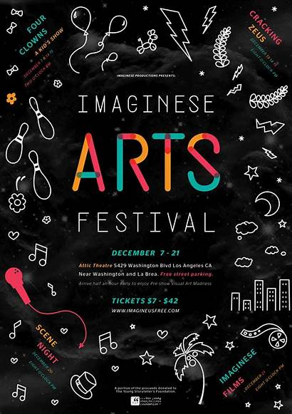 Flyer Festival Poster Arts Flyers Event Advertising