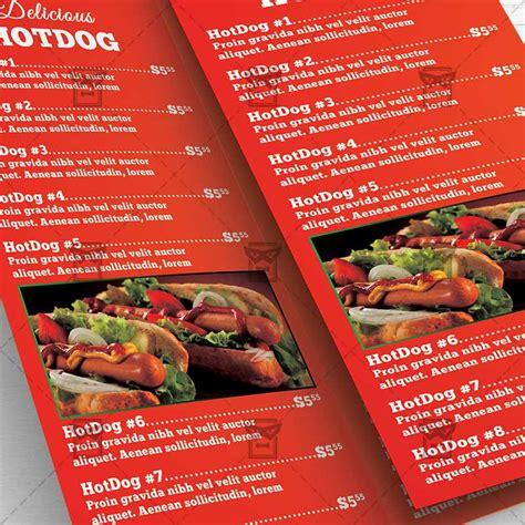 cuisine premium fast food premium tri fold brochure template exclsiveflyer free and premium psd templates