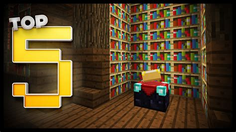 minecraft enchantment room designs ideas youtube