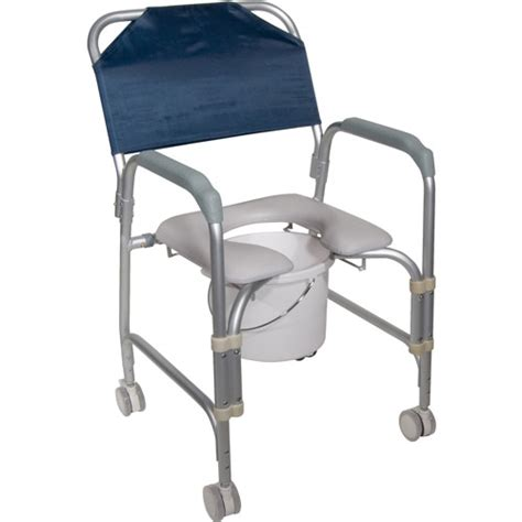 Portable Potty Chair Walmart by Drive Lightweight Portable Shower Chair Commode