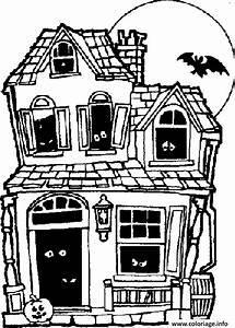 Dessin Intérieur Maison : coloriage maison hantee dessin ~ Preciouscoupons.com Idées de Décoration