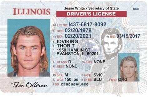 The maryland state identification card uses the same material, security features, and secure personalization process. Illinois NEW (IL) Drivers License - Scannable Fake ID - IDViking - Best Scannable Fake IDs