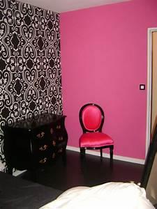 decoration chambre papier peint et peinture With peinture ou papier peint