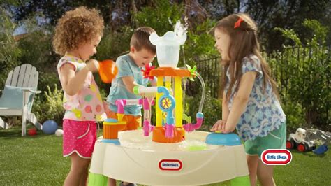 little tikes fountain factory water table little tikes fountain factory water table youtube