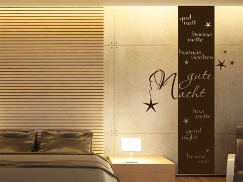 banner good night wandtattoo wandbanner gute nacht bei