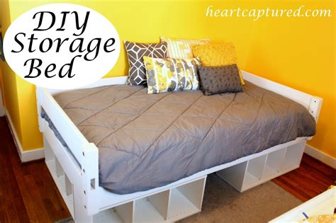 Cute Twin Bed Frame With Storage 27 Size Low Platform