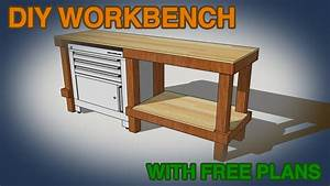 DIY Cheap & Easy Workbench Build - YouTube