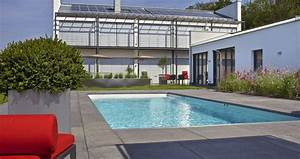 Gärtnerei Mülheim Kärlich : moderner privatgarten mit schwimmbad garten schellevis ~ Markanthonyermac.com Haus und Dekorationen